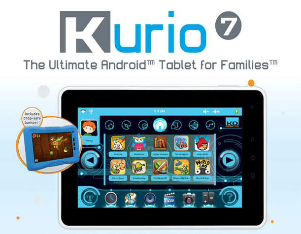 kurio tablet support phone number